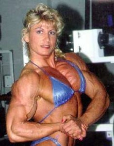 woman on steroids